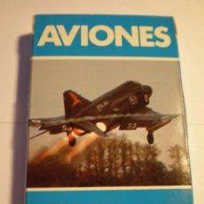 Jeux de cartes: ANTIGUA BARAJA DE AVIONES DE COMBATE AÑO 1984. Lote 205471637