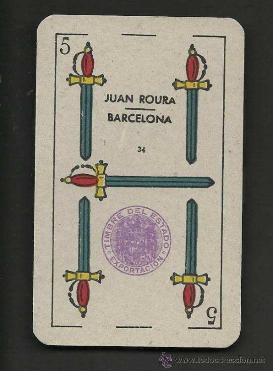 Barajas de cartas: BARAJA DE CARTAS - JUAN ROURA - COMPLETA 48 CARTAS - VER FOTOS - (CR-153) - Foto 2 - 36263244