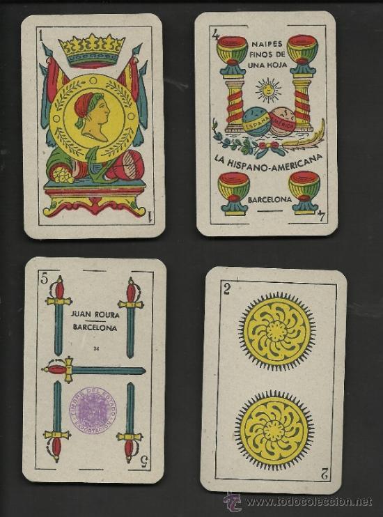 Barajas de cartas: BARAJA DE CARTAS - JUAN ROURA - COMPLETA 48 CARTAS - VER FOTOS - (CR-153) - Foto 3 - 36263244