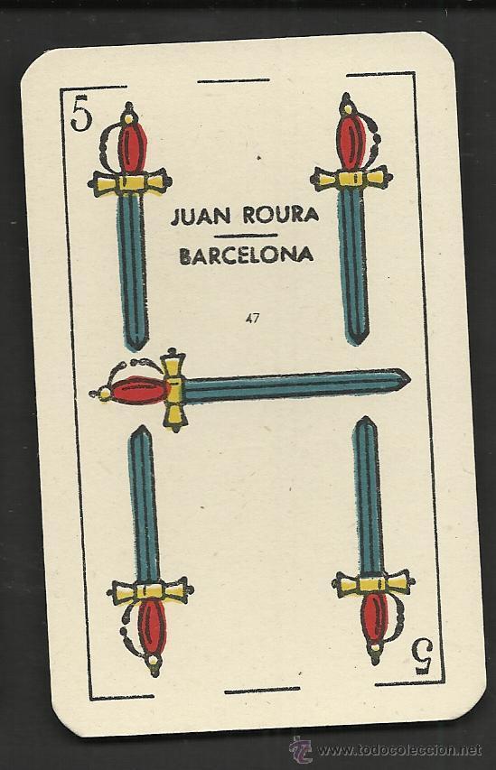 Barajas de cartas: BARAJA DE CARTAS - JUAN ROURA - COMPLETA 48 CARTAS - VER FOTOS - (CR-155) - Foto 2 - 36263326
