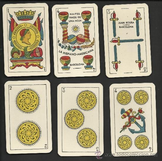Barajas de cartas: BARAJA DE CARTAS - JUAN ROURA - COMPLETA 48 CARTAS - VER FOTOS - (CR-155) - Foto 3 - 36263326
