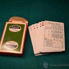 Barajas de cartas: BARAJA CARTAS POKER BRIGDGE. Lote 36303053