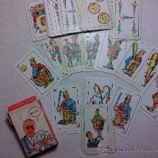 Barajas de cartas: BARAJAS ESPAÑOLAS CON CARAS DE POLITICOS . Lote 36323653