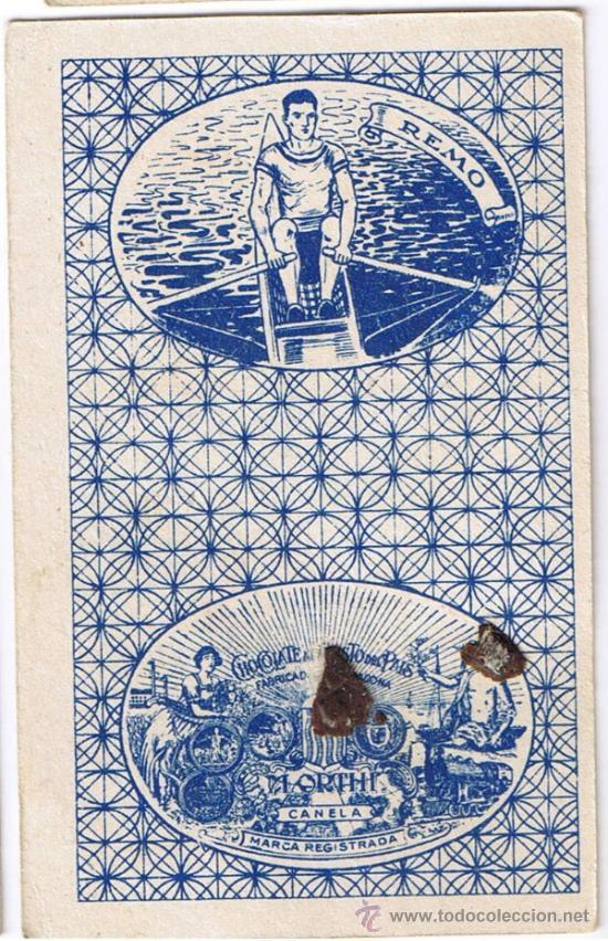 Barajas de cartas: CARTA 4 DE COPAS - BARAJA CHOCOLATES ORTHI - FIGURAS DE CINE - Foto 2 - 36355507