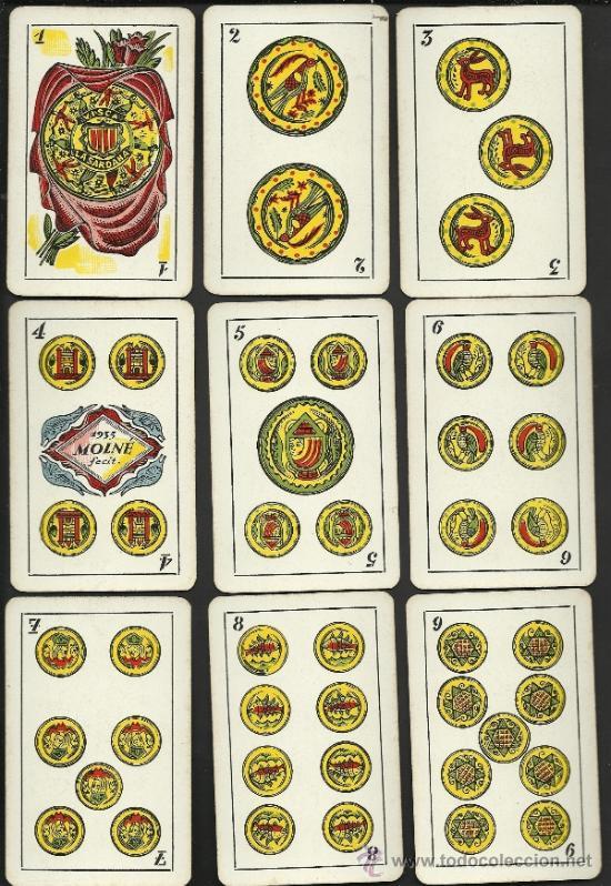 Barajas de cartas: BARAJA CATALANA -AÑOS 30 ORIGINAL - COMPLETA 48 CARTAS - CON ESTUCHE - VER FOTOS ADIC. - (CR-178) - Foto 2 - 36389008