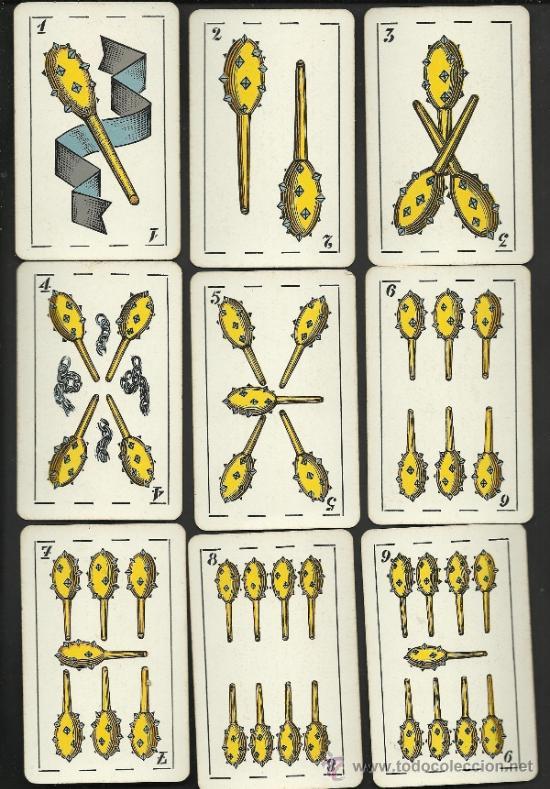 Barajas de cartas: BARAJA CATALANA -AÑOS 30 ORIGINAL - COMPLETA 48 CARTAS - CON ESTUCHE - VER FOTOS ADIC. - (CR-178) - Foto 6 - 36389008