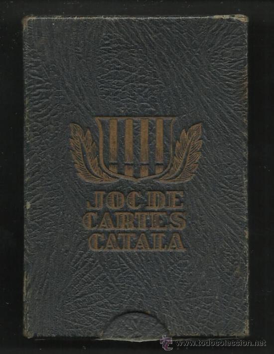 Barajas de cartas: BARAJA CATALANA -AÑOS 30 ORIGINAL - COMPLETA 48 CARTAS - CON ESTUCHE - VER FOTOS ADIC. - (CR-178) - Foto 8 - 36389008