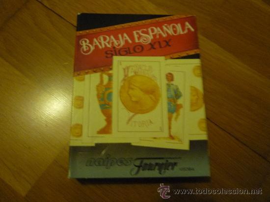 BARAJA ESPAÑOLA. FOURNIER SIGLO XIX,REPRODUCCIÓN. (Juguetes y Juegos - Cartas y Naipes - Baraja Española)