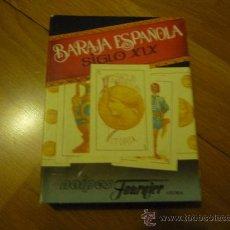 Barajas de cartas: BARAJA ESPAÑOLA. FOURNIER SIGLO XIX,REPRODUCCIÓN.. Lote 107388590