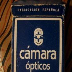Barajas de cartas: BARAJA ESPAÑOLA CAMARA OPTICOS HERACLIO FOURNIER. Lote 36447405
