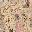 Barajas de cartas: 24 CROMOS BARAJA PUBLICITARIOS DE CHOCOLATES PÉREZ. VILLAJOYOSA (ALICANTE). Lote 36495381