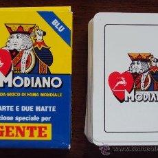 """Barajas de cartas: BARAJA MODIANO (ITALIA) EDICION ESPECIAL PARA """"GENTE"""". IMPECABLE. Lote 36500761"""