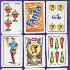 Barajas de cartas: BARAJA / NAIPES - FANTA - 40 CARTAS / CON CAJA - FAB. COMAS - RD. Lote 36548143