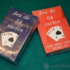 Barajas de cartas: BARAJAS POKER . Lote 36631836