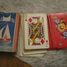 Barajas de cartas: BARAJA DE CARTAS MADE IN USA - ARRCO PLAYING CARD - CHICAGO -ADMIRAL PLAYING CARDS. Lote 36647440