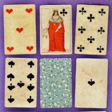 Barajas de cartas: BARAJA / NAIPES - CHIARI / ITALIA 1850 - POKER - 52 CARTAS - MUSEO FOURNIER - AÑO 2004. Lote 36712576