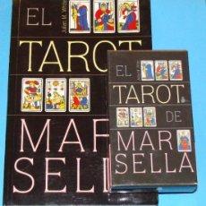 Barajas de cartas - PACK EL TAROT DE MARSELLA. BARAJA DE CARTAS + LIBRO. JULIAN WHITE. SIRIO. - 36792675