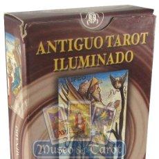 Barajas de cartas: ANTIGUO TAROT ILUMINADO. Lote 36761823