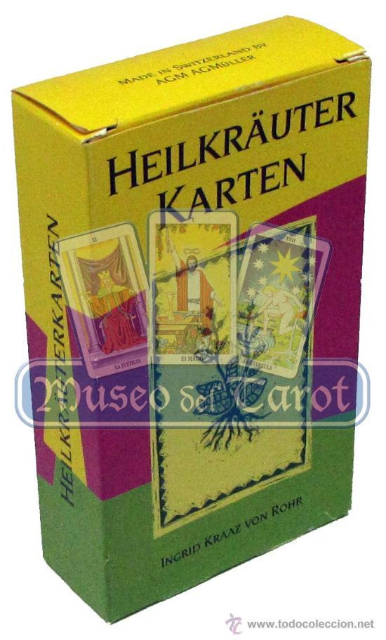 HEILKRÄUTERKARTEN (Juguetes y Juegos - Cartas y Naipes - Barajas Tarot)