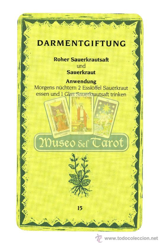 Barajas de cartas: Heilkräuterkarten - Foto 4 - 36761931
