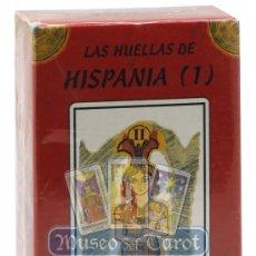 Barajas de cartas: LAS HUELLAS DE HISPANIA TAROT TARTESSOS. Lote 36762258