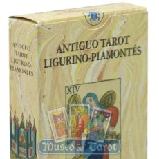 Barajas de cartas: ANTIGUO TAROT LIGURINO - PIAMONTÉS. Lote 36762742