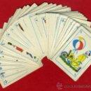Barajas de cartas: BARAJA TAMAÑO INFANTIL , RARA , TEMA CIRCO , COMPLETA 48 NAIPES ,ORIGINAL RB. Lote 36908724