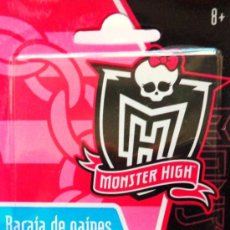 Barajas de cartas: BARAJA MONSTER HIGN - FOURNIER !!!!!!!!! PLAYING CARDS. Lote 42189136