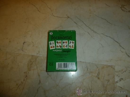 Barajas de cartas: BARAJA POCAHONTAS 2, HERACLIO FOURNIER, 111-1 - Foto 3 - 36994701