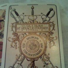 Barajas de cartas: BARAJA REEDICIÓN CINCUENTENARIO 1929-1979. Lote 37030054