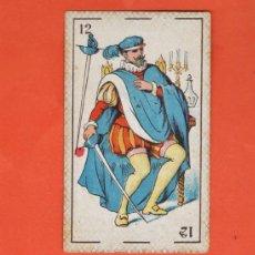 Barajas de cartas: NAIPE - ANTIGUA CARTA SUELTA DE BARAJA - DON JUAN TENORIO - CHOCOLATES EVARISTO JUNCOSA . Lote 37079495