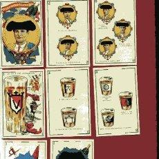 Barajas de cartas: BARAJA TAURINA ESPAÑOLA FACSÍMIL. Lote 37124973