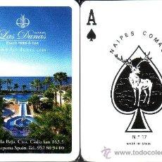 Barajas de cartas: LAS DUNAS - BARAJA DE POKER. Lote 37137348