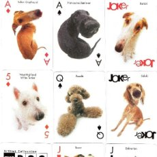 Barajas de cartas: BARAJA PERROS - THE DOG PLAYING CARDS. Lote 37143818