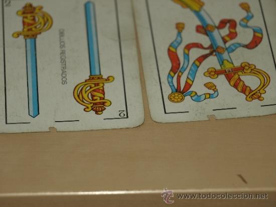 Barajas de cartas: BARAJA ESPAÑOLA DE 40 CARTAS. PUBLICIDAD GASEOSA REVOLTOSA. USADA. VER FOTOS Y DESCRIPCION. - Foto 5 - 37136069