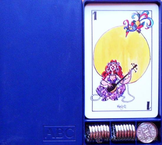 BARAJA MINGOTE MUS + CAJA + AMARRACOS ABC - PLAYING CARDS (Juguetes y Juegos - Cartas y Naipes - Otras Barajas)