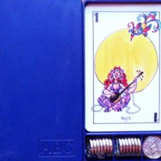 Barajas de cartas: BARAJA MINGOTE MUS + CAJA + AMARRACOS ABC - PLAYING CARDS. Lote 37150254