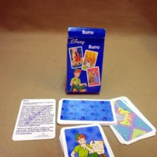 Barajas de cartas: BARAJA INFANTIL FOURNIER. PETER PAN. BURRO. EN SU CAJA Y CON INSTRUCCIONES. Lote 37246896