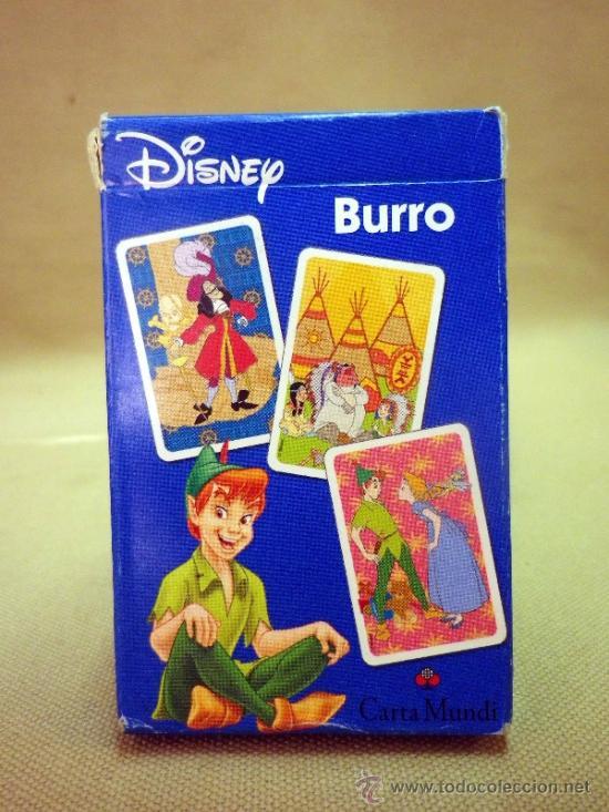 Barajas de cartas: BARAJA INFANTIL FOURNIER. PETER PAN. BURRO. EN SU CAJA Y CON INSTRUCCIONES - Foto 2 - 37246896