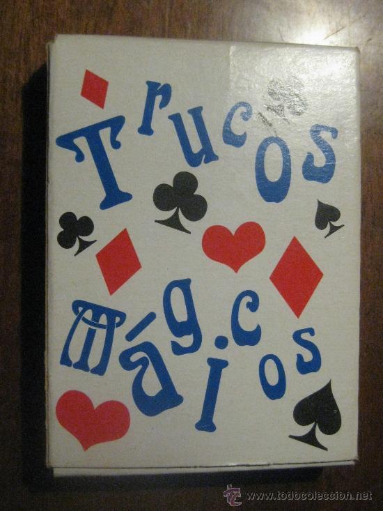 Barajas de cartas: BARAJA DE CARTAS TRUCOS MÁGICOS - BURGER KING - KIDS CLUB - FALTA UNA CARTA- TIENE DOS CARTAS JOKER - Foto 2 - 37220082
