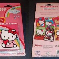 Barajas de cartas: BARAJA DE CARTAS HELLO KITTY (JUEGO DE LAS FAMILIAS) - FOURNIER. Lote 37234441