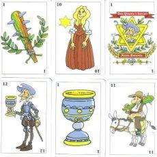 Barajas de cartas: BARAJA ESPAÑOLA DON QUIJOTE Y SANCHO PANZA-AÑO 2012. Lote 214826071