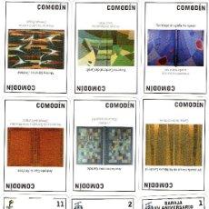 Barajas de cartas: BARAJA XV ANIVERSARIO AFEDA 1992 - 2007 EDICIÓN LIMITADA. Lote 37315314