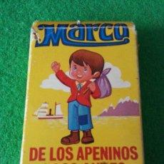 Barajas de cartas: BARAJA DE CARTAS MARCO DE LOS APENINOS A LOS ANDES. Lote 37337868