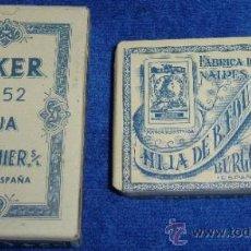Barajas de cartas: POKER Nº 52 - HIJA DE B.FOURNIER - BURGOS (AÑOS 30) ¡IMPECABLE!. Lote 37388122