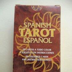 Barajas de cartas: TAROT ESPAÑOL.COMPLETO 78 CARTAS+INSTRUCCIONES.FOURNIER. Lote 37404435