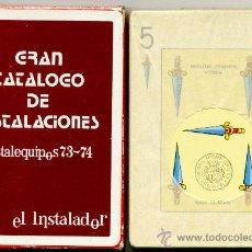 Barajas de cartas: NAIPES FOURNIER – INSTALEQUIPOS 73 - 74. Lote 37406104