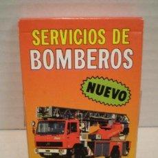 Barajas de cartas: BARAJA BOMBEROS AÑO 1989 FOURNIER. Lote 182901335