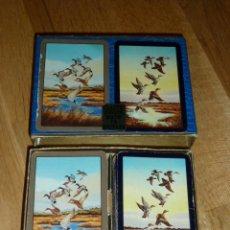 Barajas de cartas: SET DE 2 BARAJAS POKER - WADDINGTONS FINE - INGLESAS . Lote 37469986