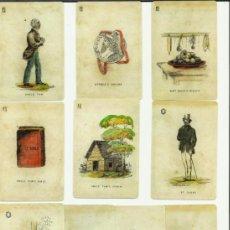 Barajas de cartas: BARAJA, DE COLECCION,LA CABAÑA DEL TIO TOM DATA EE UU 1825 COLECCION DE HACE UNOS AÑOS,VER FOTOS . Lote 37559608